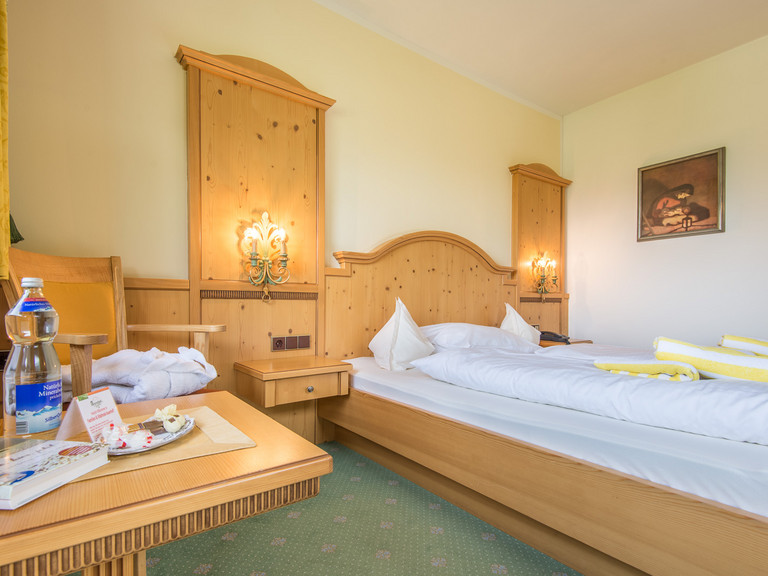 Rooms at the Family and Vitality Hotel Auenhof