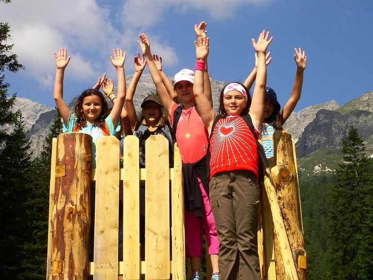 Child supervision in the Stubai Valley