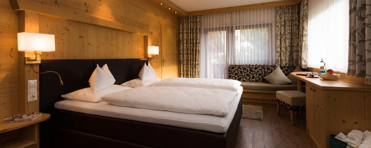Rooms & prices at the Family and Vitality Hotel Auenhof