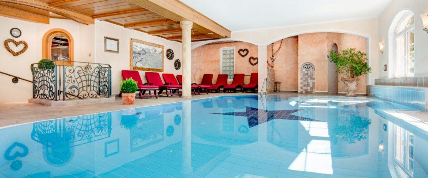 Swimming pool in the Stubai Valley